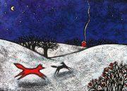 Red Winter Fox