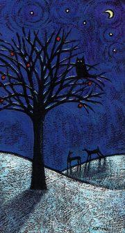 Winter Night Series- Owl