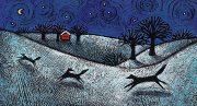 Winter Night Series- Fox