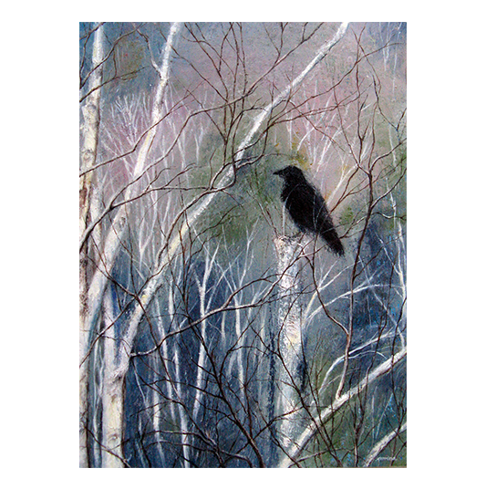 Winter Crow
