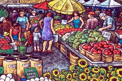 market-scene